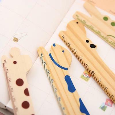 1pcs Korean stationery logs lovely wind ruler School Supplies Gifts