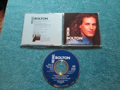 Michael bolton when i m back on my feet again