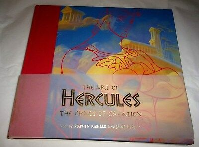 The Art of  Hercules - The chaos of Creation Book