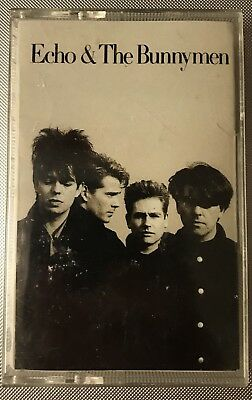 Echo & The Bunnymen Self-titled Cassette 1987 Sire Records
