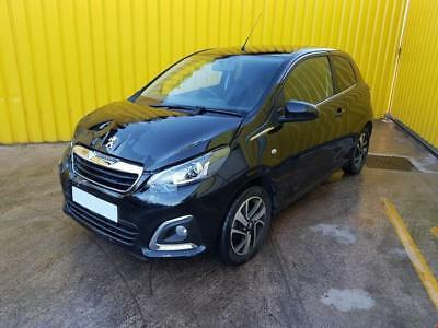 2016 PEUGEOT 108 ALLURE 1.2 PETROL 5 SPEED, category S