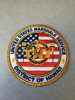 United States Marshals Service District Of Hawaii Patch.