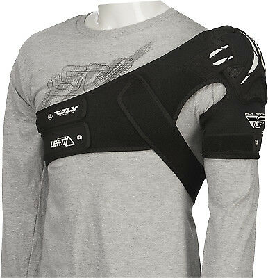 Fly Racing Leatt Adjustable Motocross Offroad Snowmobile Riding Shoulder Brace