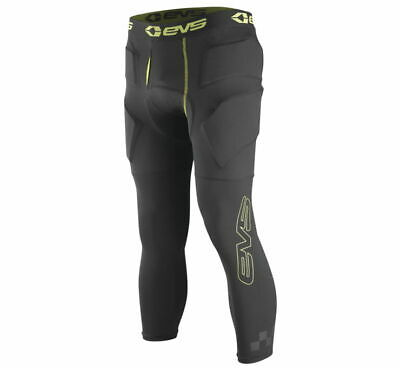 EVS Tug Impact Offroad Motorcycle Riding 3/4 Protective Pants Black