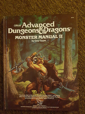 AD&D/D&D/Advanced Dungeons&Dragons - First Edition Monster Manual 2 - TSR 2016