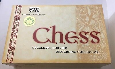 Studio Anne Carlton SAC Chess Set - Wizard of Oz - Boxed - SEE ALL PHOTOS