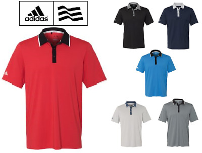 ADIDAS Mens Climacool Performance Colorblock Sport Shirts Size S-3XL NEW A166