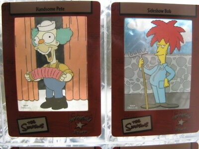 The Simpsons Film Cell Trading Cards