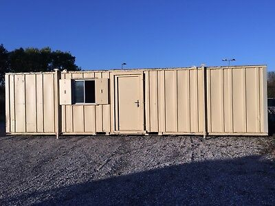 Site Office Cabin Welfare Unit 32ft x 10ft Portable Steel Building