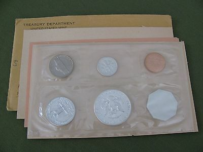 3 US Mint Proof Sets 1962 1963 1964 90% Silver Franklin Kennedy Half Dollar Coin