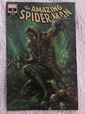 AMAZING SPIDERMAN 2 vol 5 2018 LUCIO PARRILLO COMICXPOSURE VARIANT NM