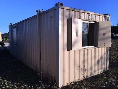 Site Office Cabin Welfare Unit 24ft x 9ft Portable Steel Building