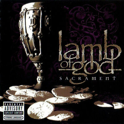 Sacrament [PA] by Lamb of God (CD, Aug-2006, BMG (distributor) NEW (61)