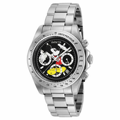 Invicta Men's 'Disney Limited Edition' Quartz Stainless Steel Casual Watch 25192