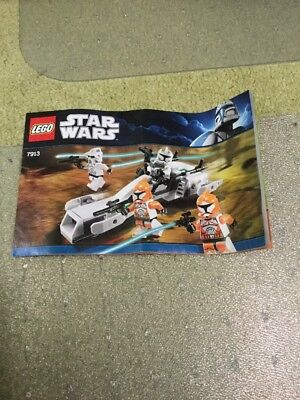 Lego Instructions Only Star Wars 7913 Clone Trooper Battle