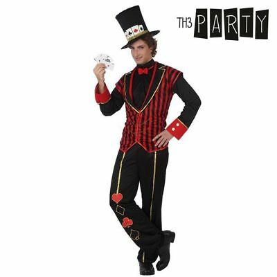 Costume per Adulti Th3 Party Cavaliere delle carte da poker Taglia:M/L