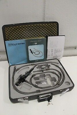 Olympus IF-11D3 Industrial FiberScope Bore Scope with Manual & Travel Case