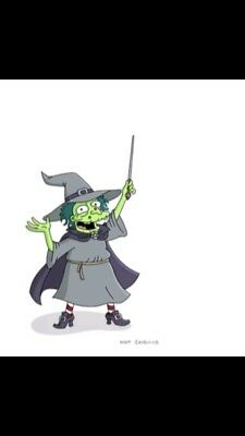 Tapped Out Premium Witch