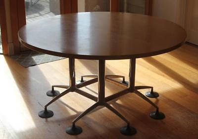 Large Round Dining Table Boardroom Table Mid Century Style RRP$625