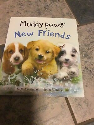 Basset In Book Muddy Paws New Friends Featuring Droopy Children's Hard Book