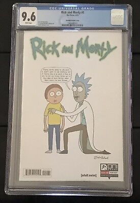 Rick And Morty #1 -NEAR MINT- CGC 9.6 NM+ Oni Press 2015 - Roiland Variant Cover