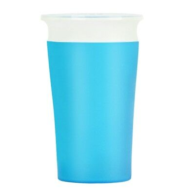 Munchkin Kids Trainer Drinking Cup Decor 360°Sippy Cup Anti Spill Blue