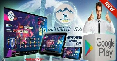 Atlas Pro Iptv Ultimate New Derniere Version Vod 12 Mois Test 24H Dispo 👌👌👌