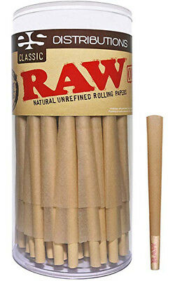 Cones 100 Pack Raw Classic Special Pre Rolled 98 Size Authentic W Filter 98mm.