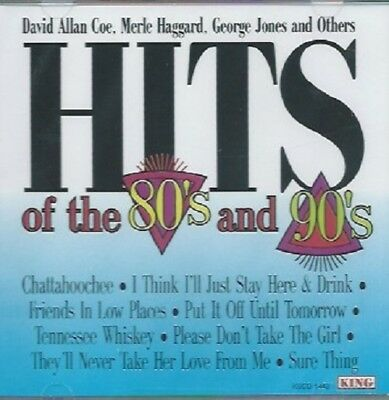 Hits of the 80's and 90's by Various Artists (CD, 1995, King)