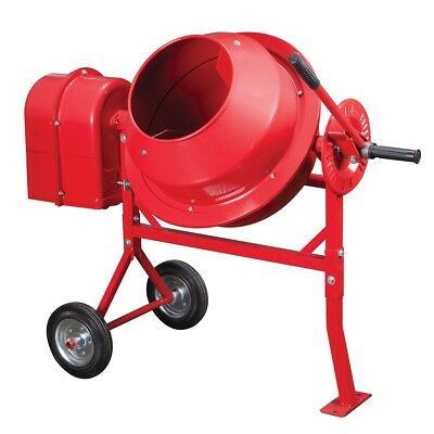 1-1/4 Cubic Ft. Portable Cement Mixer ***FREE SHIPPING***