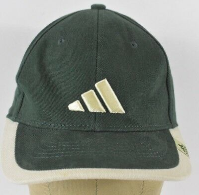 Green Adidas Clothing Brand Logo Embroidered Baseball Hat Cap Adjustable