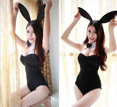 Adult Girl Sexy Women Bunny Rabbit Costume Lingerie Cosplay Nightwea Outfit Play