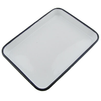 Lab Medical Dental Surgical Instruments Tools Sterilizing Tray Plate 25x22cm