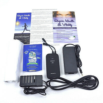 Ionic Detox Foot Spa Bath Chi Ion Cleanse,  Portable Handheld Unit.  Strongest!