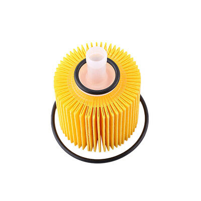 1 Set Oil Filter 04152-yzza1 Top Yellow w/Drain Plug & Gaskets Useful For Toyota