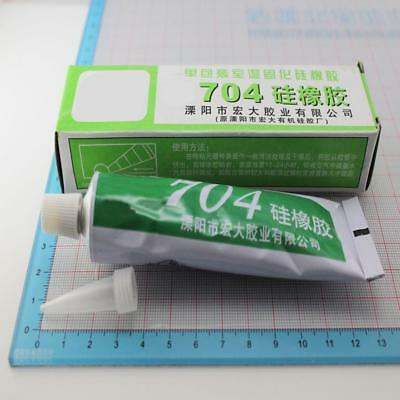 704 High Temperature Clear Silicone Rubber Sealant Adhesive Glue Glass Metal