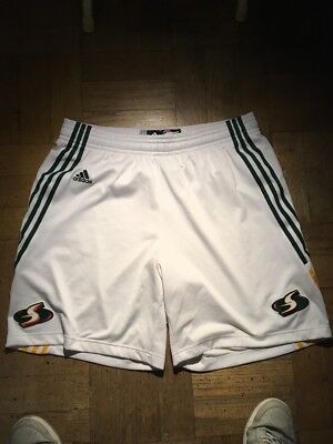 Adidas Seattle Storm Women Basketball Shorts XL Quanitra Hollingsworth Game  Worn 119147b75