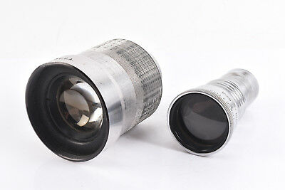 2 Bell &Howell 16mm Projection Lenses 2 Inch f/1.6 / 2 Inch f/1.6 Incre-Lite V67