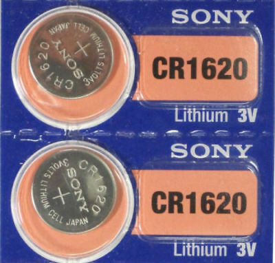 SONY CR1620 2 PACK LITHIUM BATTERIES 3V Watch Battery EXP 2026 USA FREE SHIPPING