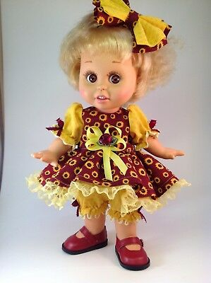 Galoob Baby Face doll dress and hair bow