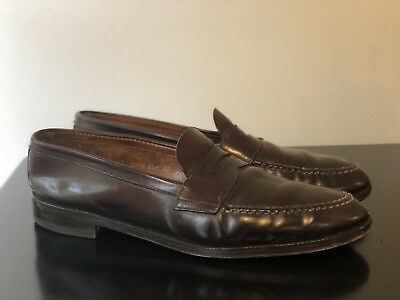 3ef4767fc4abf Brooks Brothers Alden S Cordovan Lhs Penny Loafers Shoes 11 5d