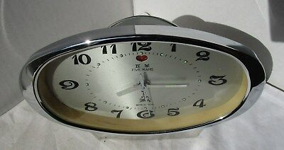 As New Grey Alarm Clock from FIVE RAMS