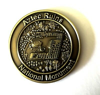 Aztec Ruins National Monument - World Heritage Commemorstive Coin - NPS