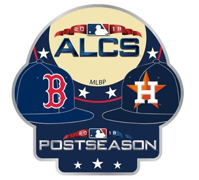 2018 ALCS TEAM Pin Houston Astros Boston Red Sox Dueling World Series  Playoffs