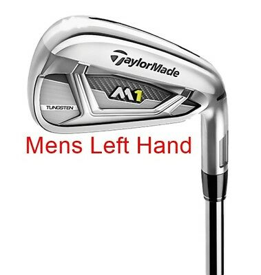 Taylormade M1 (2017) No. 7 Iron - Stiff Flex - Steel Shaft - Mlh - New!!