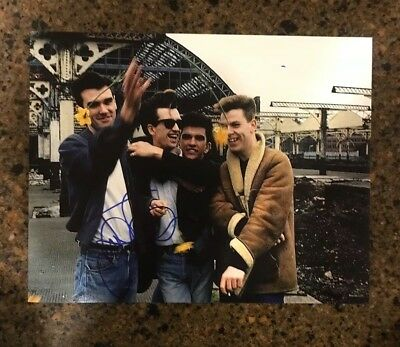 * JOHNNY MARR * signed autographed 11x14 photo * THE SMITHS GUITARIST * 2
