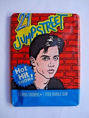 1987 Topps *21 Jump Street* Sealed Wax Pack