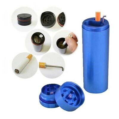 Tobacco Grinder Dugout Pipe Case With Storage Room Case Smoking Pipe-NEW