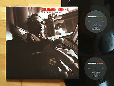 SOLOMON BURKE Don't Give Up On Me 2 LP + OIS 1ST PRESS 2002 UNGESPIELT RAR