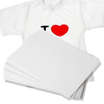 100X A4 Iron On Sublimation Heat Transfer Paper for Mug Polyester Cotton T-Shirt